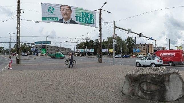 Linn oli mõne aja eest veel täis valimisplakateid, aga üldiselt on erakondade valimiskampaaniad olnud tänavu igavad. Heiko Kruusi