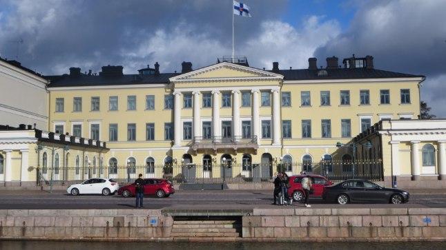 Soome presidendiloss Helsingis.