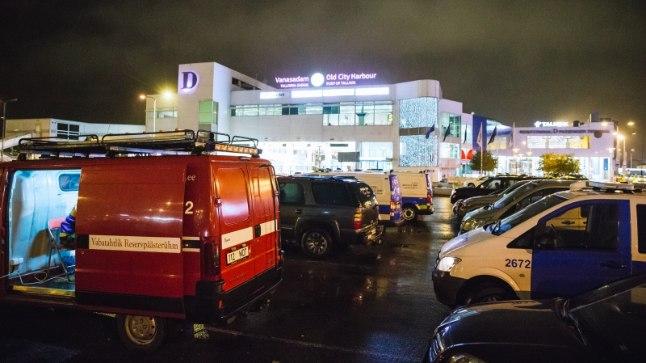 Kadunud 10aastase Laura otsingud Tallinnas D-terminali juures 12. oktoobril 2017.