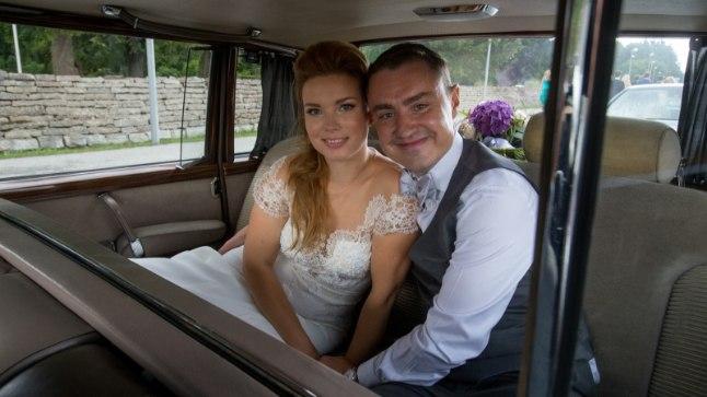 Luisa ja Taavi Rõivas, pulmad toimusid 19. augustil