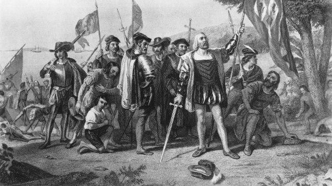 Maal Christoph Kolumbuse maabumisest