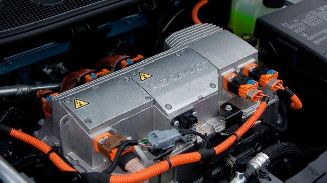 Renault elektriauto mootor.