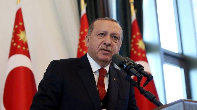 Türgi president Erdogan.