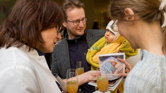 Keskhaigla Sünnitusmajas avati kaasaegne sünnitus- ja vastusündinute keskus