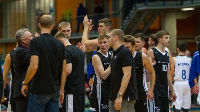 Tartu Ülikooli korvpallimeeskond.