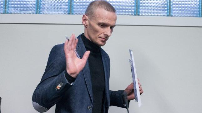 Ei kommenteeri: süüdi mõistetud Anton Kartšov on veendunud, et HI-viirus sugulisel teel ei levi. Seda olevat kinnitanud kaks professorit internetis