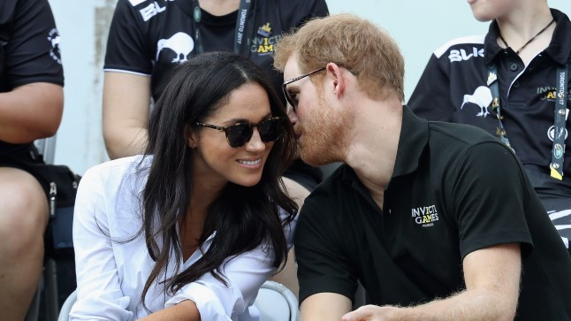 Prints Harry ja Meghan Markle septembris Torontos Invictuse mängudel.