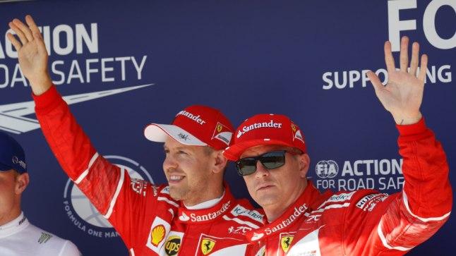 Vettel naudib koostööd soomlasega: Räikkonen on parim meeskonnakaaslane