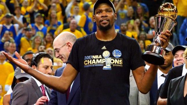 Kas Kevin Durantil ja Golden State Warriorsil õnnestub oma mullust triumfi korrata?