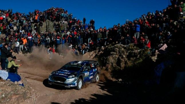 Argentiina ralli kuulub jätkuvalt WRC-sarja populaarsemate sekka. Pildil Ott Tänak.