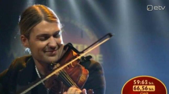 VIDEO | Maailma kiireim viiuldaja David Garrett: suudan teosega paremini suhestuda, kui nooti ei vaata