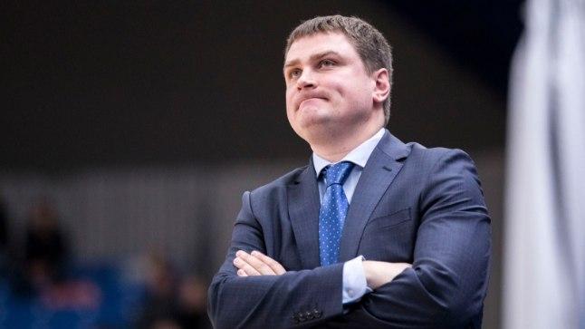 Kalevi peatreener Alar Varrak.