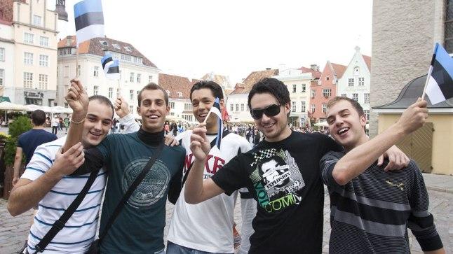 Itaallased Tallinnas.