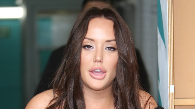 "Charlotte Crosby telesaates ""This Morning"""