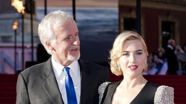 James Cameron ja Kate Winslet