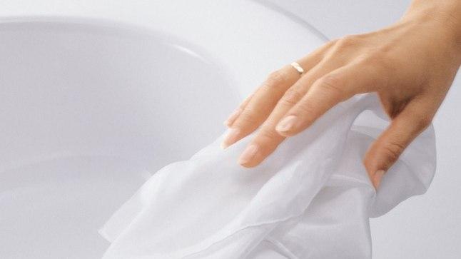 Õiged koristusvõtted hoiavad ära Eestile omasest karedast veest tingitud setete tekke nii valamutel, segistitel kui WC-pottides