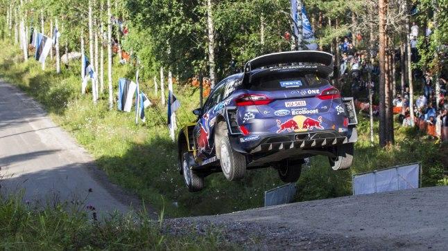 Sebastien Ogier' stiilinäide Soome MM-rallilt.