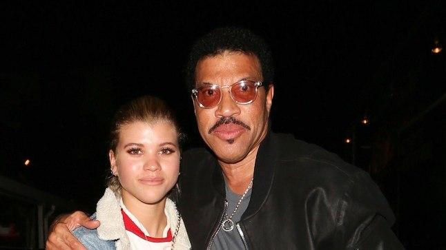 Lionel Richie koos oma tütre Sofiaga