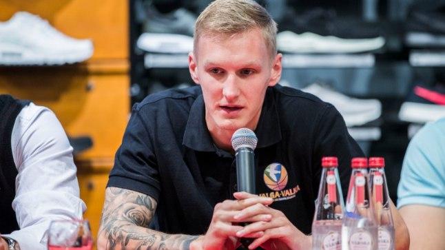 Valga peatreener Kristaps Zeids.