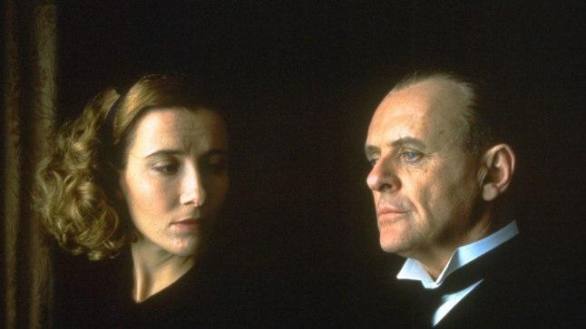 "Emma Thompson ja Anthony Hopkins filmis ""Remains of the Day""."