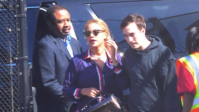Beyoncé ja Jay Z tabati esmakordselt oma kaksikutega.