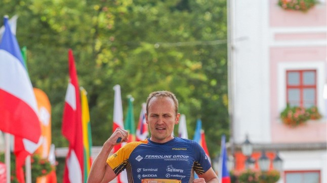 Rait Ratasepp 6. Tartu Linnamaratoni finišis.