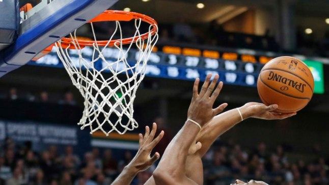 Alec Burks, Troy Daniels Utah Jazz guard Alec Burks (10) goes to the basket as Phoenix Suns guard Troy Daniels (30) defends during the second half of a preseason NBA basketball game Friday, Oct. 6, 2017, in Salt Lake City. (AP Photo/Rick Bowmer)