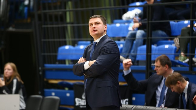 BC Kalev/Cramo peatreener Alar Varrak.