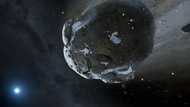 ASTEROID: Meie päikesesüsteemis ootab avastamist veel sadu tuhandeid asteroide. Üks 750 000 avastatust möödub neljapäeva varahommikul Maast vaid napilt 50 000 kilomeetri kauguselt. Pilt on illustratiivne.