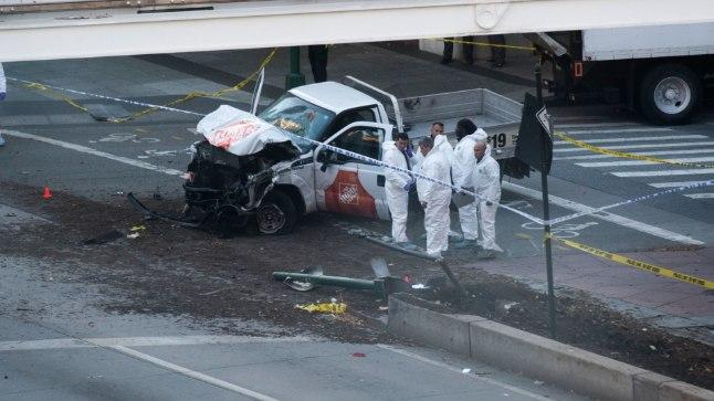 SURMAAUTO: Pikapauto, millega 29aastane usbekk Sayfullo Saipov New Yorgis kõnni- ja rattateel sõites tappis kaheksa ja vigastas raskelt 11 inimest.