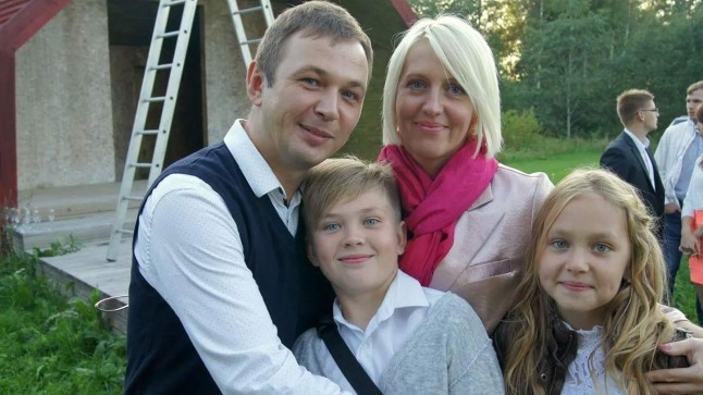 Kerdo Mölder koos perega