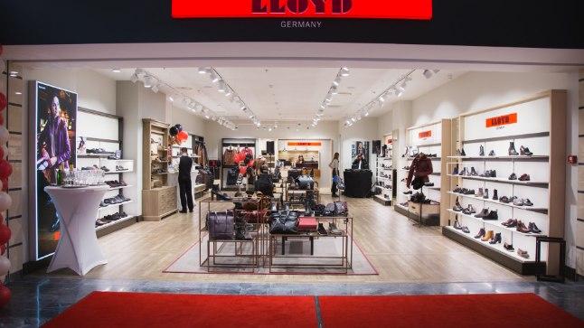 Saksa kvaliteetbrändi LLOYD esinduspoe avamine