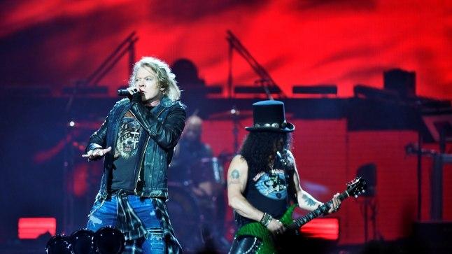 Guns N' Roses Friends Arenal Stockholmis 29. juunil 2017.