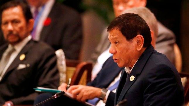 Filipiinide president Rodrigo Duterte
