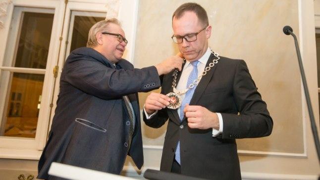 JÄLLE AMETIS: Tartu linnapeaks valiti uuesti Urmas Klaas.