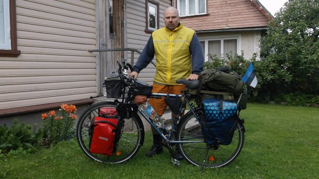 MINEK: Heini alustas jalgrattareisi ümber maailma 2016. aasta juulis.
