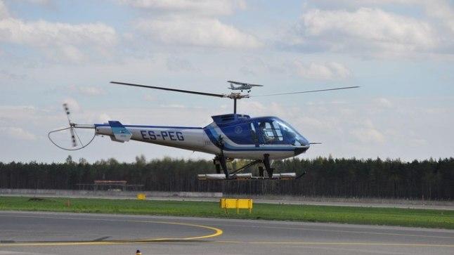 выставленный на аукцион вертолет