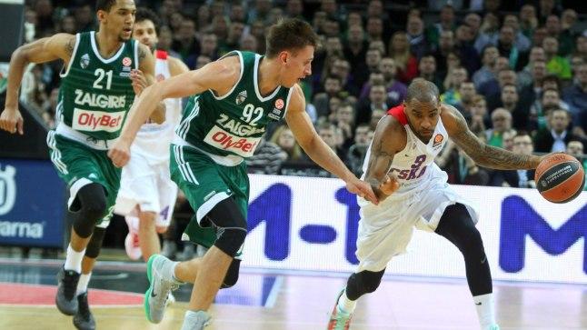 CSKA ja Žalgiris lähevad Euroliigas vastamisi juba 19. korda.