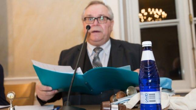 Juhib Tartu linnavolikogu: Riigikogu ja keskerakonna liige Aadu Must hakkab juhtima Tartu linnavolikogu tööd.