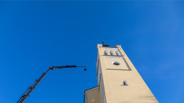 1a86cebfd6c GALERII | Jaani kiriku torni tõsteti 25 kellamängu kella | Õhtuleht