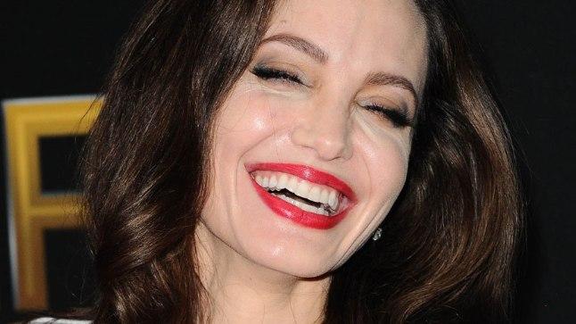 Angelina Jolie Hollywoodi filmiauhindade galal aastal 2017.