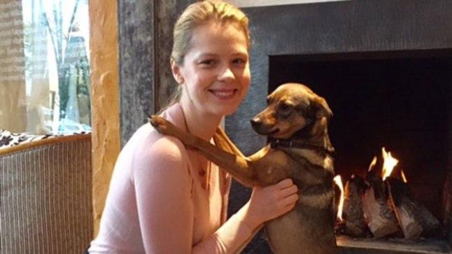 Katrin Lust ja tema koer