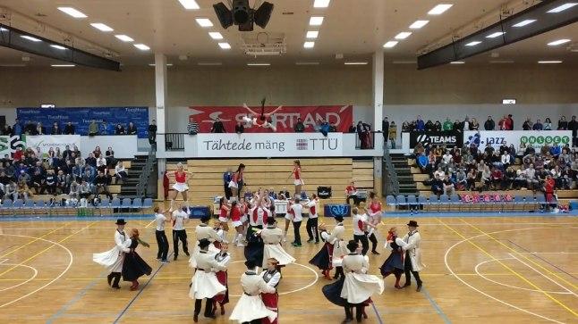 VIDEO   TTÜ ja Kalev/Cramo kohtumisel pakuti korvpallifännidele tõeline tantsuelamus