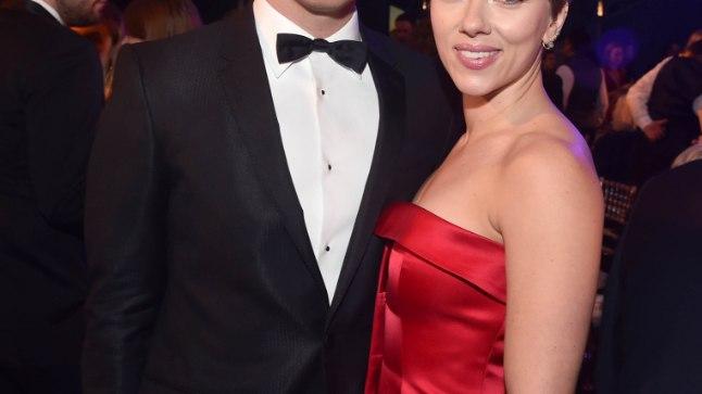 Scarlett Johansson ja Colin Jost