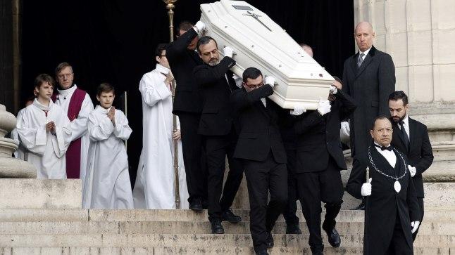9. detsembril saadeti Pariisis Madeleine'i kirikust viimsele teele legendaarne rokkar Johnny Hallyday.