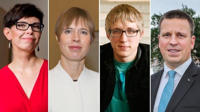 Anu Välba   Kersti Kaljulaid   Johannes Tralla   Jüri Ratas