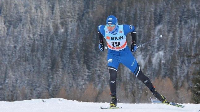 Karel Tammjärv rühkis Davosi MK 15 km vabatehnikadistantsil 13. kohale.