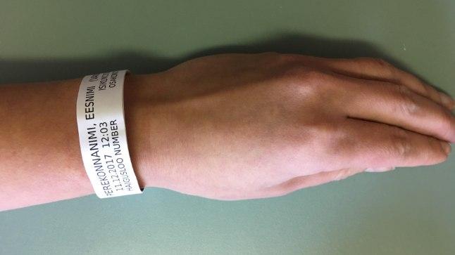 Viljandi haigla patsiendid saavad randmepaelad