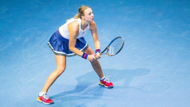 Mainekas tenniseportaal: äärmiselt talendikas Anett Kontaveit tegi läbimurdeaasta