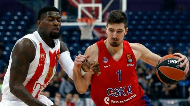 Väga hea protsendiga kolmeseid tabanud CSKA tõusis Euroliigas ainuliidriks